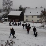 Auf zum Weihnachtsfiguren- weg von Bernd Kind