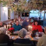 Platz! Im Wintergarten des Weinrestaurantes